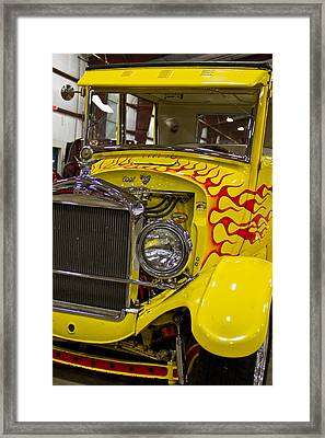 1927 Ford-front View Framed Print by Eti Reid