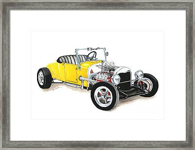 1927 Ford Roadster Framed Print by Donald Koehler