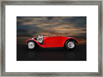 1927 Ford Roadster Kit Car Framed Print by Frank J Benz