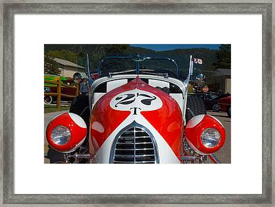 1927 Ford T Roadster Framed Print by Lee Roth