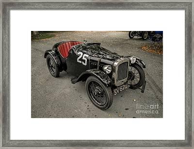 1928 Austin 7 Framed Print by Adrian Evans