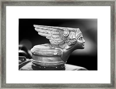 1928 Buick Custom Speedster Hood Ornament 3 Framed Print by Jill Reger
