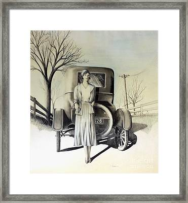 1928 Framed Print by David Neace