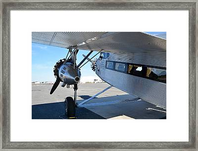 1928 Ford 5-at-b Tri-motor Framed Print by Matt Abrams