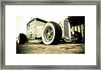1928 Ford Model A Hot Rod Framed Print by Phil 'motography' Clark