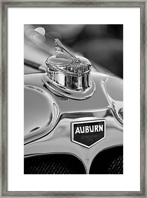 1929 Auburn 8-90 Speedster Hood Ornament 2 Framed Print by Jill Reger