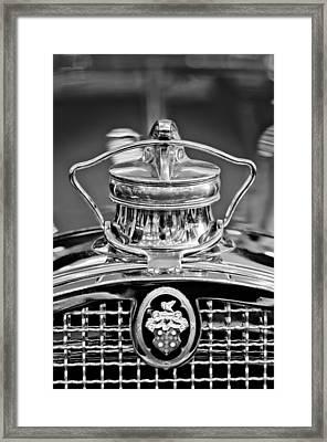 1929 Packard 8 Hood Ornament 4 Framed Print by Jill Reger