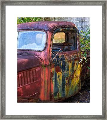 1930s Pickup Truck Framed Print by Douglas Barnett