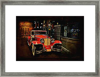 1931 Cord L-29 Framed Print by Maria Angelica Maira