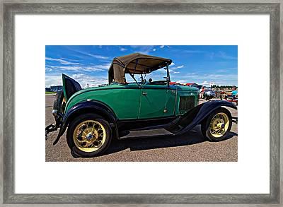 1931 Model T Ford Framed Print by Steve Harrington