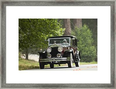 1931 Rolls-royce Phantom I Brewster St. Andrews Framed Print by Jill Reger