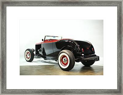 1932 Ford Deuce Roadster Framed Print by Gianfranco Weiss