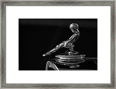 1932 Packard Framed Print by Kurt Golgart