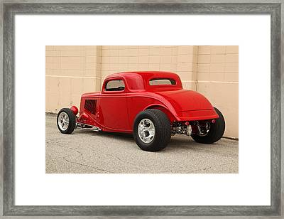 1933 Ford Coupe Street Rod Framed Print by Gianfranco Weiss