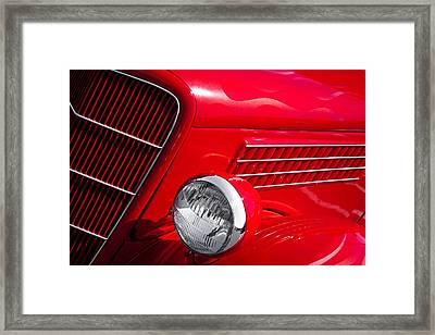 1935 Ford Humpback Framed Print by David Patterson