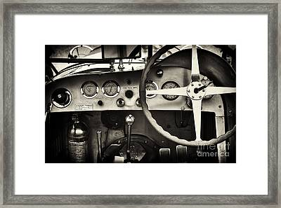 1935 Maserati 4cs Framed Print by Tim Gainey