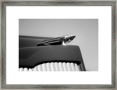 1935 Packard Framed Print by Kurt Golgart