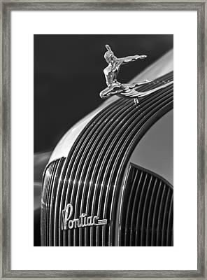 1935 Pontiac Sedan Hood Ornament 3 Framed Print by Jill Reger