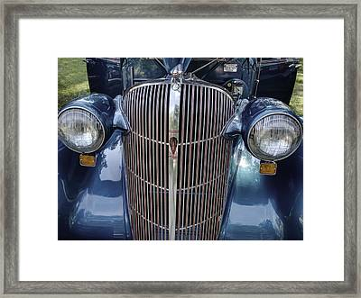 1936 F-36 Oldsmobile Touring Sedan  Framed Print by Thomas Young