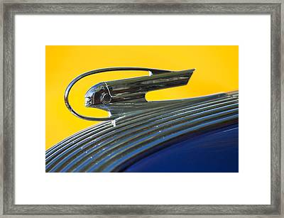 1936 Pontiac Hood Ornament 2 Framed Print by Jill Reger