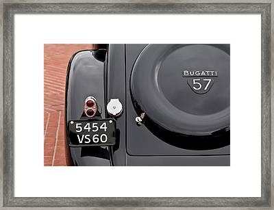 1937 Bugatti Type 57c Ventoux Framed Print by Jill Reger