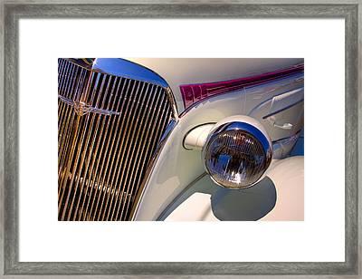 1937 Chevy 4 Door Sedan Framed Print by David Patterson