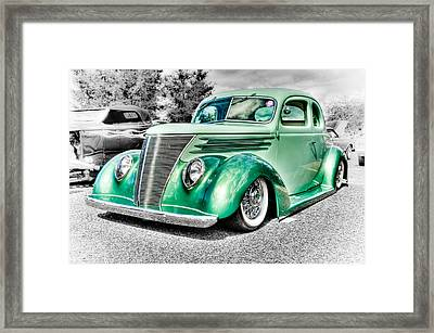 1937 Ford Coupe Framed Print by Phil 'motography' Clark
