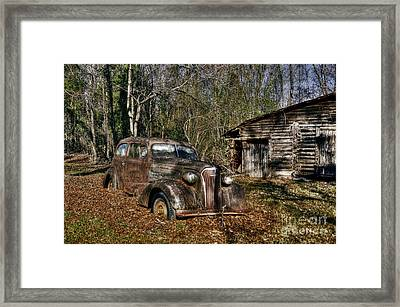 1937 Revisited Framed Print by Benanne Stiens