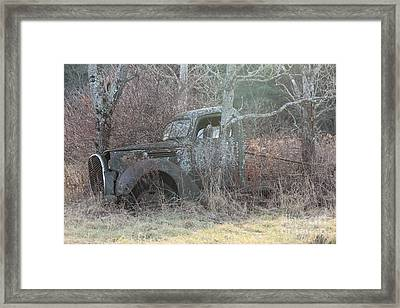 1938-39 Ford Truck 5 Framed Print by Joseph Marquis