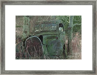 1938-39 Ford Truck Framed Print by Joseph Marquis