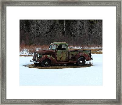 1938-39 Ford Pickup Framed Print by Joseph Marquis