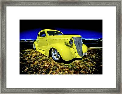 1938 Chevrolet Coupe Framed Print by motography aka Phil Clark