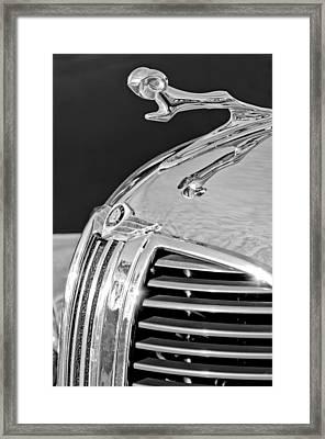 1938 Dodge Ram Hood Ornament 4 Framed Print by Jill Reger