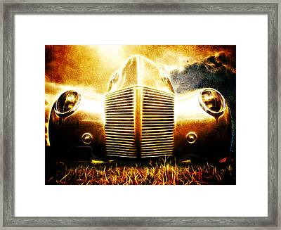 1939 Ford Roadster Framed Print by Phil 'motography' Clark