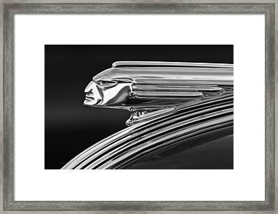 1939 Pontiac Silver Streak Hood Ornament 3 Framed Print by Jill Reger