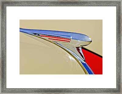1940 Chevrolet Pickup Hood Ornament 2 Framed Print by Jill Reger