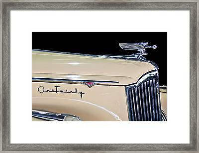 1941 Packard Hood Ornament Framed Print by Jill Reger