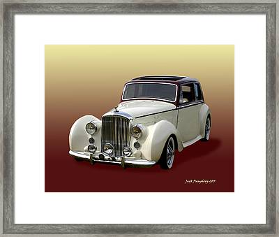 1947 Bentley M K  5   G T X  Framed Print by Jack Pumphrey