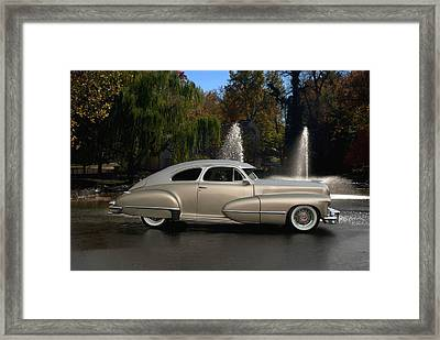 1947 Cadillac Coupe Rodtique Framed Print by Tim McCullough