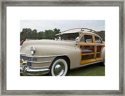 1947 Chrysler Framed Print by Jack R Perry
