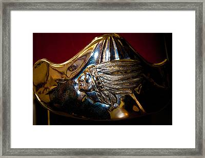 1947 Indian Chief Motorcycle Framed Print by David Patterson