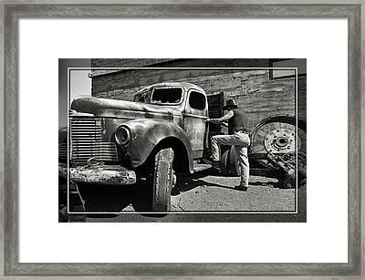1947 International 4 Framed Print by Cindy Nunn