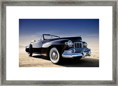 1947 Lincoln Continental Framed Print by Douglas Pittman