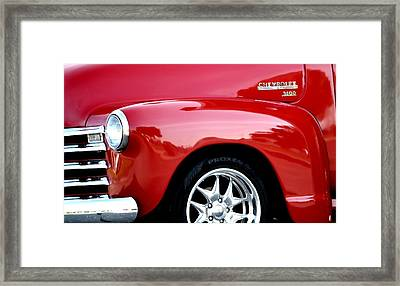 1948 Chevy Thriftmaster 3100 Framed Print by Deena Stoddard