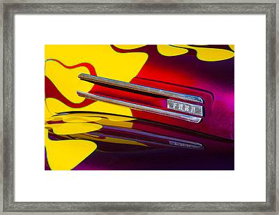 1948 Ford Panel Truck Framed Print by Carol Leigh