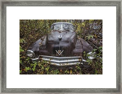 1949 Cadillac Framed Print by Debra and Dave Vanderlaan