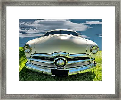 1949 Ford Club Coupe Framed Print by Leland D Howard