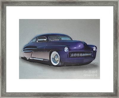 1949 Mercury Framed Print by Paul Kuras