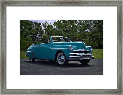 1949 Plymouth Special Deluxe Convertible Framed Print by Tim McCullough