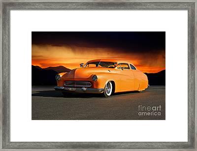1950 Mercury 'boulevard Cruiser' Framed Print by Dave Koontz